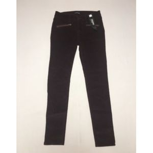 Express Womens Corduroy Pants 4 Reg Legging NWT